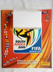 """ALBUM PANINI. """"FIFA WC SOUTH AFRICA 2010"""" Full Set + Album! (*)"""