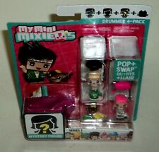 MY MINI MIXIEQS DRUMMER 4-PACK New In Package Pop & Swap Outfits & Hair NIP