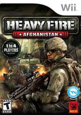 Heavy Fire: Afghanistan - The Chosen Few WII New Nintendo Wii