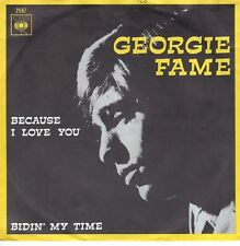 7inch GEORGIE FAME because I love you HOLLAND 1967 EX (S1881)