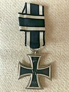 MEDAL INSIGNIA GERMAN WW1 1914 IRON CROSS 2ND CLASS 900 SILVER MARKED (Ref 562)