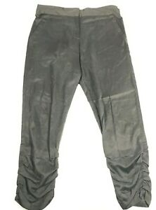 Anthropologie Daughters of the Liberation Womens Size 4 Cotton Cupro Pants