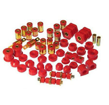 PROTHANE 96-00 Civic Complete Suspension Bushing Kit w/ Control Arm Bushing Red