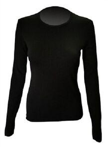 *NEW* Steiner Soft-Tec Ladies Long Sleeve Vest | Thermal Base Layer | Black 6-16