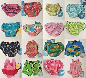 NEW iPlay Washable, Reusable Swim Diapers, Tanks, Trunks -  SPF 50+ - You Choose