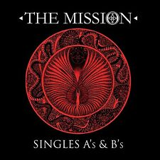 THE MISSION - SINGLES 2 CD NEUF