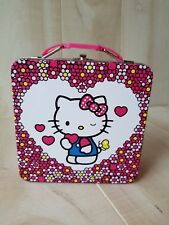 Hello Kitty Mini Lunch Box Collectable Tin Girls Children School