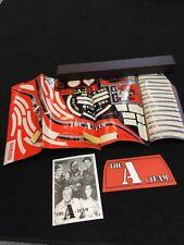 Original Coleco A-team Pedal Car Sticker Decal Sheet Armband And Litho.   Rare