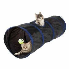 Maze House Bed with Ball for Puppy Rabbit Ferrets Kitten Hideaway Toys Small Pets for Indoor Interactive INPODAK 3 Way Cat Tunnel with Springs Collapsible Pop-up Pet Tube with Peek Hole