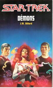 J.M. Dillard - Démons - Star Trek 2 - Fleuve Noir