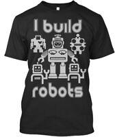 I Build Robots - Premium Tee T-Shirt