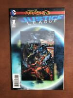 Justice League: Futures End #1 (2014) 9.4 NM DC Key Issue Lenticular Cover