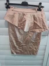 FOREVER NEW New Sz 6 Above Knee/Short Length Fitted Peplum Dusty Rose Skirt