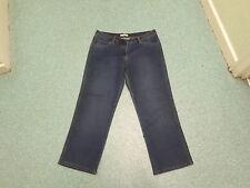 "George Straight Jeans Size 14 Leg 28"" Faded Dark Blue Ladies Jeans"