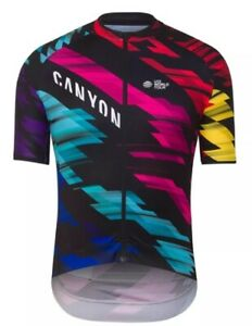 Men Colourful Summer Breathable Quick Dry Road Bike MTB Summer Cycling Jersey