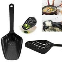 1pc Scoop Strainer Colander Soup Cooking Shovels Pasta Filter Spoon Kitchen Tool