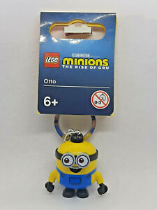 Brand New Lego - Otto Keyring (2021) - Minions the Rise of Gru - 854043