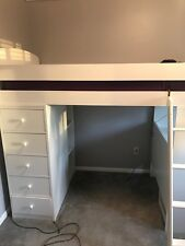 Kids or Teens Loft Bed, White, Wooden, Great Condition