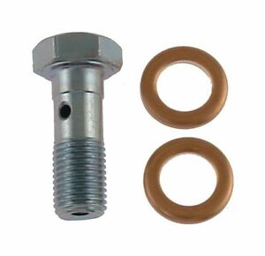 Ford Truck Banjo Bolt With Washers 1980-2017 Many Models F, E Series, Superduty