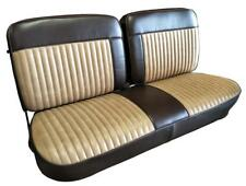 Ford F Series SuperCab Two Tone Seat Upholstery for Front Split Bench 1973-1986