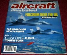 Aircraft Illustrated 1988 November ETPS Boscombe Down,Air Mauritius,B-52,Oshkosh