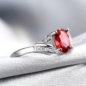 Handmade 2.10ct Ruby   Size US 7 14K White Gold Ring CM199