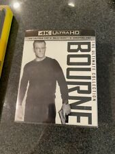 Bourne Ultimate Collection (4K+Blu-ray-No Digital) Slipcover-Free Shipping