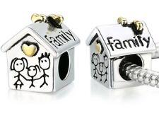 Charm Family Bead Charm House Charm Fits European Charm Bracelets CH132