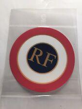 Autocollant stickers  cocarde tricolore RF République Française