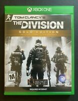 Tom Clancy's The Division (Microsoft Xbox One, 2016) Preowned NO DLC
