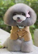 Vestiti e scarpe cappotto senza marca marrone per cani