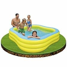 Family Lounge Swimming Pool Inflatable Water Center Play Fun Summer Swim Outdoor