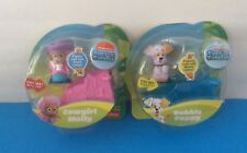 New Set of 5 BUBBLE GUPPIES FIGURES Roll - BUBBLE PUPPY & COWGIRL MOLLY