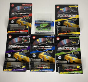 Lot of 6 Need For Speed Porsche Unleashed Die Cast Cars Havoline Race Texaco