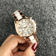 Women's Dress Stainless steel Inter ceramic Quartz Bear M Wrist Watch