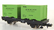 Tomix 2707 - Freight Car with Removable Containers Wagon KOMU1 - N-scale - NEW