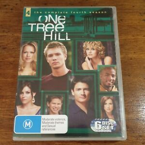 One Tree Hill the Complete Fourth Season 4 DVD R4 Like New! FREE POST