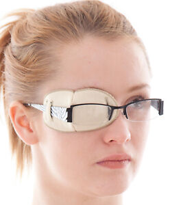 Medical Adult Eye Patches for Glasses REGULAR Soft, Washable sold to the NHS