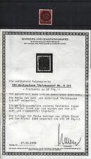 Lokalausgaben (SBZ West-Sachsen) Holzhausen A III gestempelt Attest (B06179-1-2)