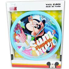 Orologio da Parete Mickey Mouse Muro Cameretta Topolino Bambini Kids Euroswan