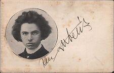JAN KUBELIK - Czech Violinist - Original Vintage Handsigned B/W Postcard