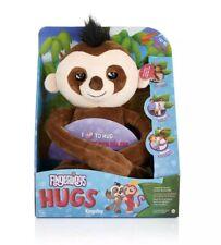 New WowWee Fingerlings HUGS Kingsley Advanced Interactive Plush Baby Sloth Pet