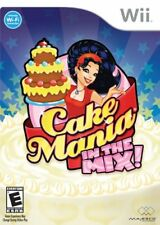 Cake Mania In The Mix (2008) Brand New Factory Sealed USA Nintendo Wii Game