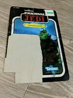 Star Wars - Return of the Jedi - Gamorrean Guard - Vintage Cardback