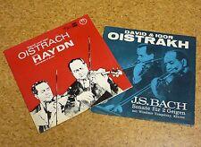 2x Single David & Igor Oistrakh Oistrach J.S. Bach  / Haydn Violin Violinduett
