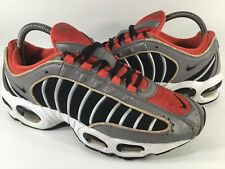 Nike ID Air Max Tailwind 4 IV Red Black Grey White 2008 Size 8 Rare 325513-991