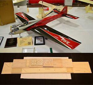 "65""Ws DIRTY BIRDY Sport Pattern Rc Plane partial kit/short kit & plans, PLS READ"