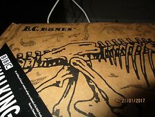 "BC Bones - Wooden 3-D Puzzle Kit 1998 -TYRANNOSAURAS- 21"" x 36"""