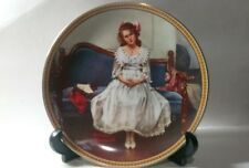 Vintage Norman Rockwell Waiting At The Dance 1983 Collectors Plate With Coa.