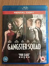 Sean Penn Ryan Gosling Emma Stone GANGSTER SQUAD ~ 2013 Noir Thriller UK Blu-ray